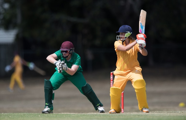 Queensland Under-15 player Georgia Voll hits out